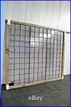 Antique Frank Lloyd Wright Luxfer Leaded Glass Window Panel Architectural C. 1900
