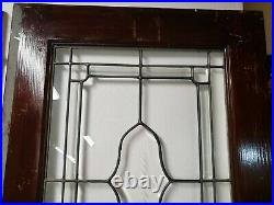 Antique French Doors With Beveled Leaded Glass Architectural Salvage