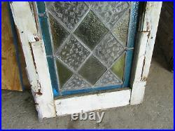 Antique Gothic Stained Glass Window 16 X 40 2 Of 2 Architectural Salvage