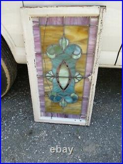 Antique Leaded Glass window no breaks