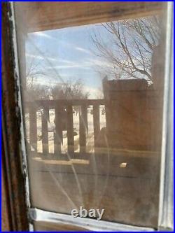 Antique Vintage Industrial Factory Steel Casement Lite Leaded Window