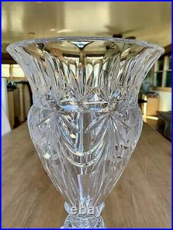 Godinger Shannon Lead Crystal 16 Contessa Large Flower Vase STUNNING