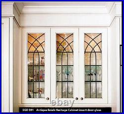 Heritage Leaded glass Windows For cabinet door SGD391