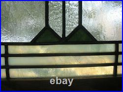 Prairie/craftsman Style Stained Glass Window