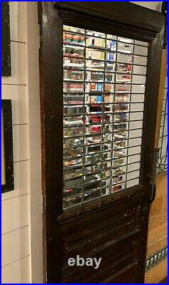 Rustic Pantry Door with Leaded Glass