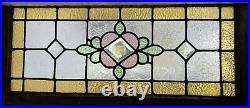 Stained Glass Window With Bevels