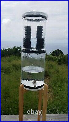 The Water Machine water purifier World's first all-glass gravity water filter