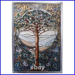 Tree of Life Stained Glass Window Art Suncatcher Wall Decor Enchanting