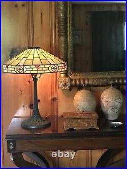 Wilkinson Antique Leaded Glass Lamp